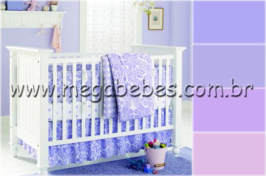 Mega Bebês » Quarto de Bebê Feminino ~ Quarto Rosa E Lilas