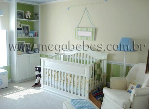 Mega Bebês » Quarto de Bebê Masculino ~ Quarto Tema Verde