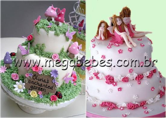 decoracao de bolo jardim encantado:lindíssimas para o bolo decorado de jardim encantado e fadas