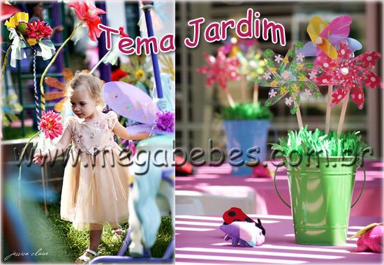 enfeites para festa infantil tema jardim : enfeites para festa infantil tema jardim:Um dos temas mais belos para uma festa de criança e ainda oferece uma