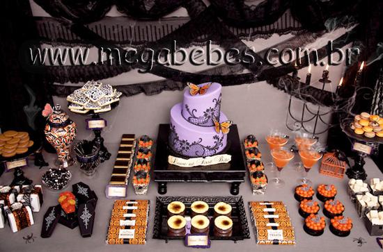 Decoracao De Halloween Para Festa De Aniversario.Mega Bebes Festa Infantil Halloween