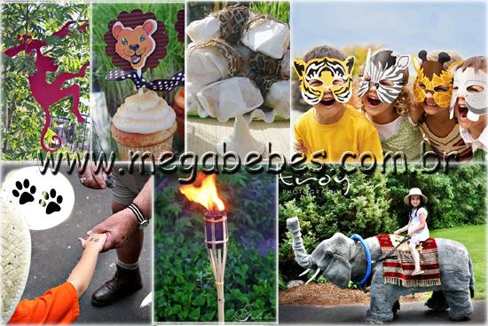 festas aniversario jardim zoologico maia:Veja algumas idéias para um belíssimo bolo em estilo Safari!