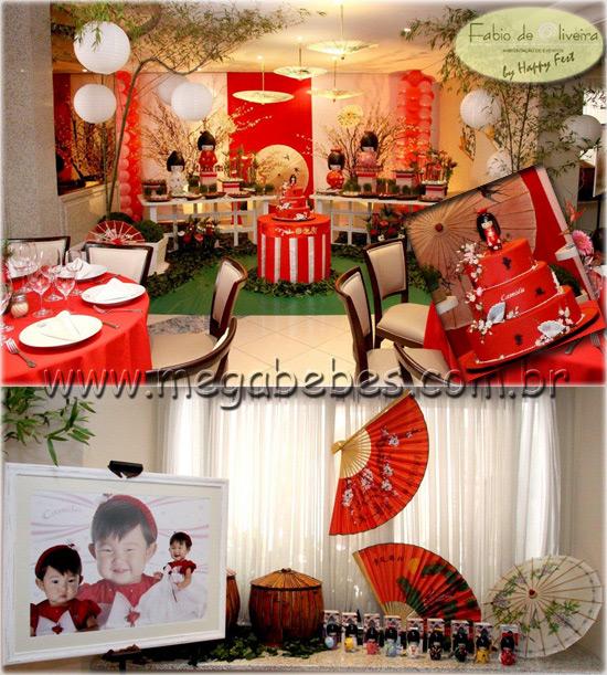 decoracao festa kokeshi:Olha aí, a idéia das bonequinhas sem roupa para cada convidada